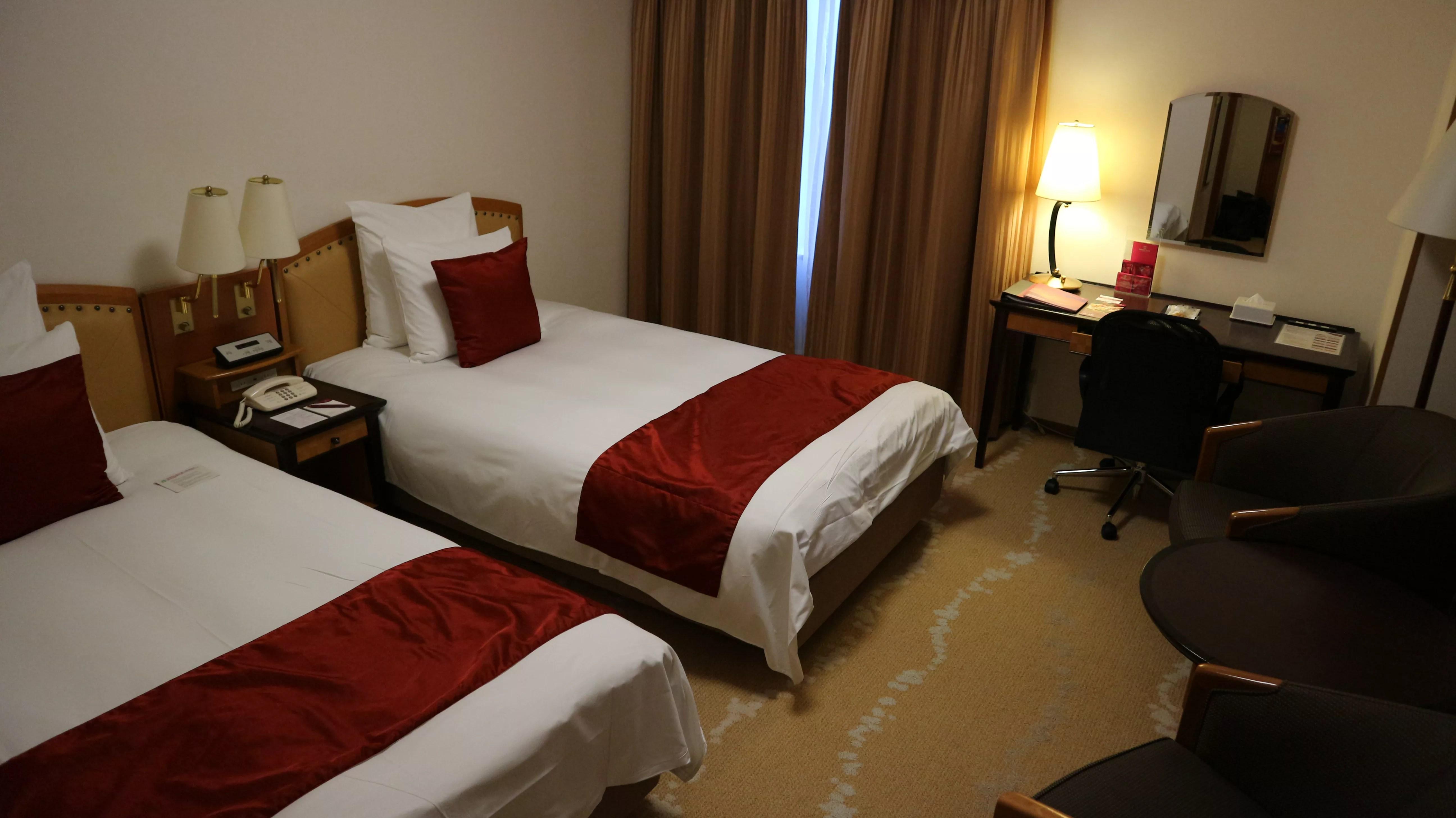 ANAクラウンプラザホテル富山レギュラーフロアデラックスツイン宿泊記