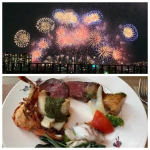 インターコンチネンタルホテル大阪からなにわ淀川花火大会を見るプランの内容と費用は?