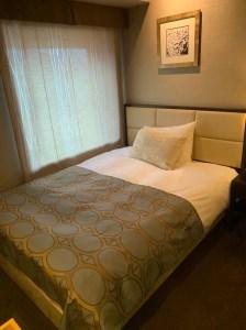 ラビスタ函館ベイ宿泊記(シングルルーム室内、大浴場「海峡の湯」、館内の様子など)