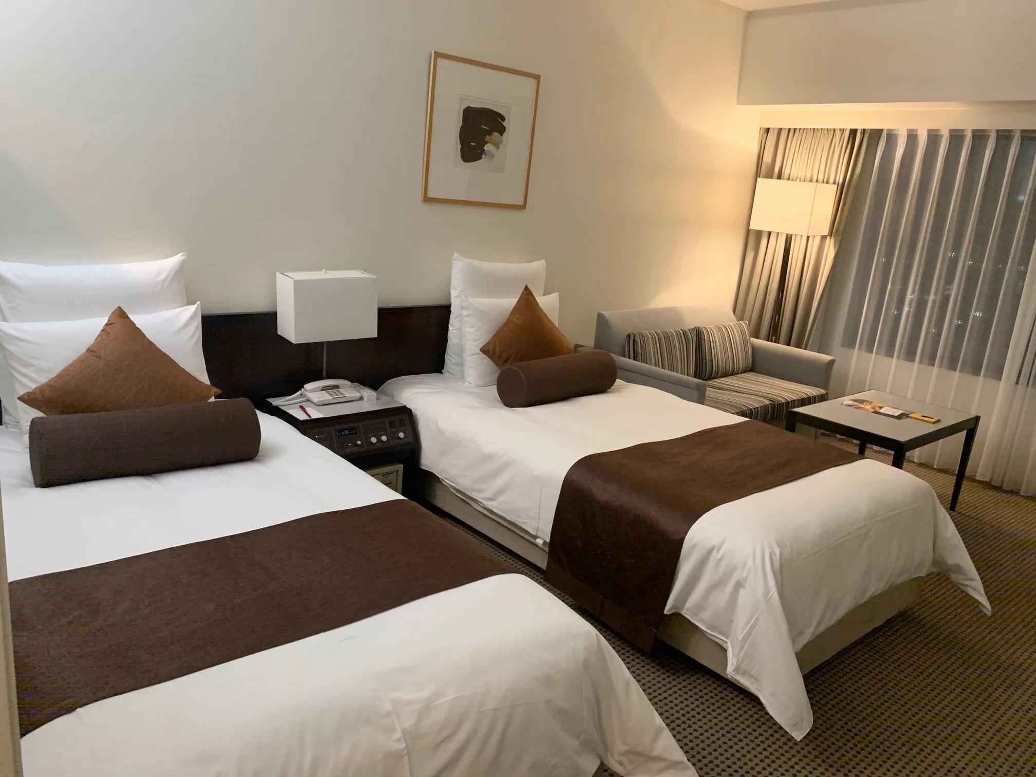 ANAクラウンプラザホテル神戸デラックスツイン宿泊記