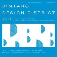 BINTARO DESIGN DISTRICT 2018, PERMEABLE SOCIETY, 11-20 OCT 2018