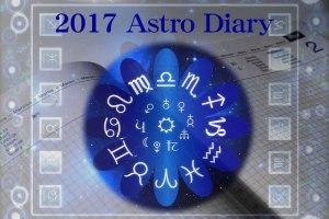 2017 Astro Diary アストロ・ダイアリー 受付開始!