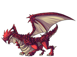 Demios is an extremely smart dragon, but he is also extremely agressive!