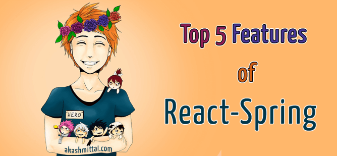 top 5 features of react spring animation library