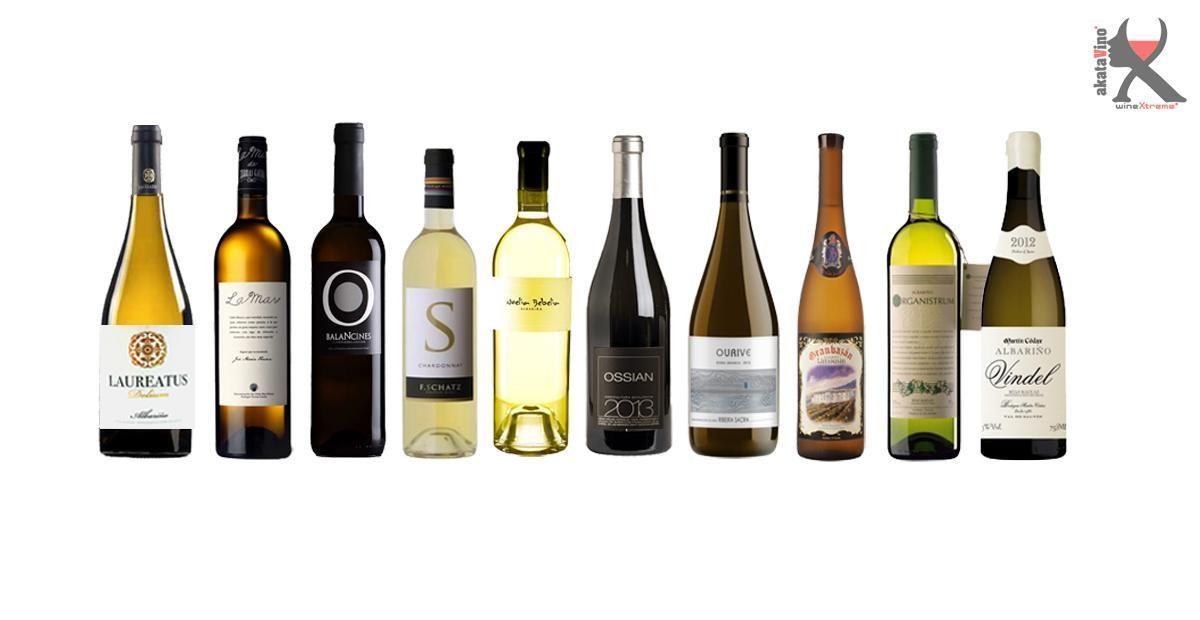 10 Mejores Vinos Blancos en España 2016 Guia Xtreme by akataVino blanco web © 2016