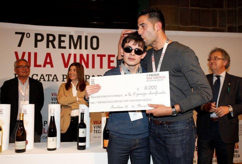 Finalistas Cata por parejas Vila Viniteca 2014