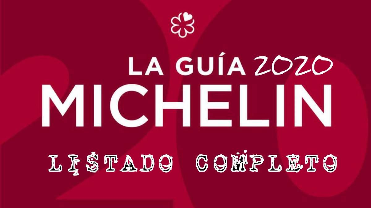 Listado completo Restaurantes con Estrellas Guía Michelín 2020 | AkataVino Magazine