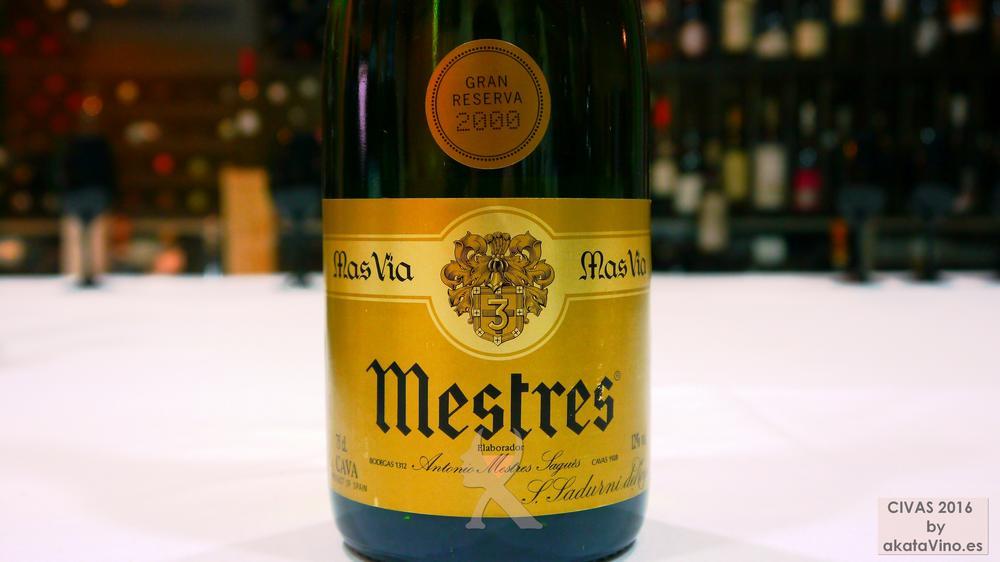 MESTRES MAS VIA GRAN RESERVA VINTAGE 10 Mejores Vinos Espumosos del año Premios akataVino CIVAS 2016 © akataVino (12)