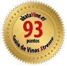 Puntuaciones para la Guía de Vinos Xtreme by akataVino.es Sello de Plata