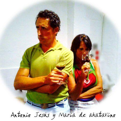 Antonio Jesús Pérez y María Navarro de akataVino wineXtreme