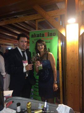 Antonio Jesús Pérez Reina y María Navarro Staff akataVino
