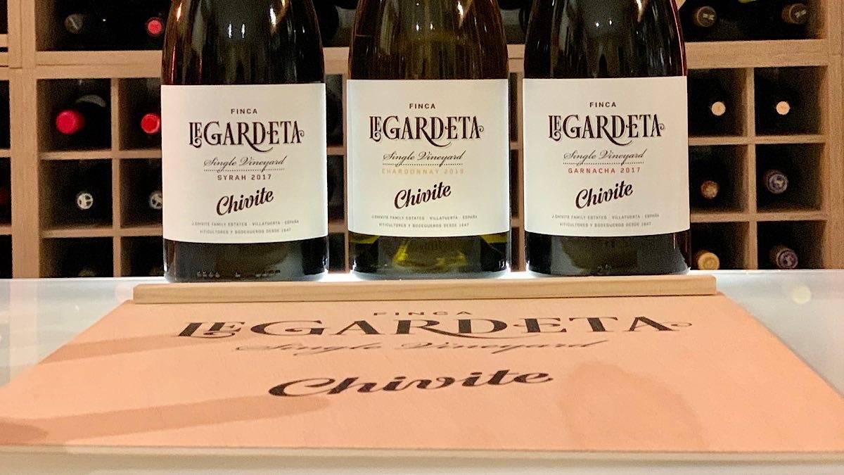 Chardonnay, Syrah y Garnacha en esencia. Los nuevos monovarietales de Chivite nacidos en Finca de Legardeta | AkataVino Magazine