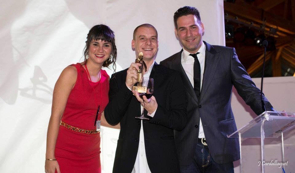 Pablo Abad Mejor Joven Sumiller de Málaga ASM  y la Costa del Sol