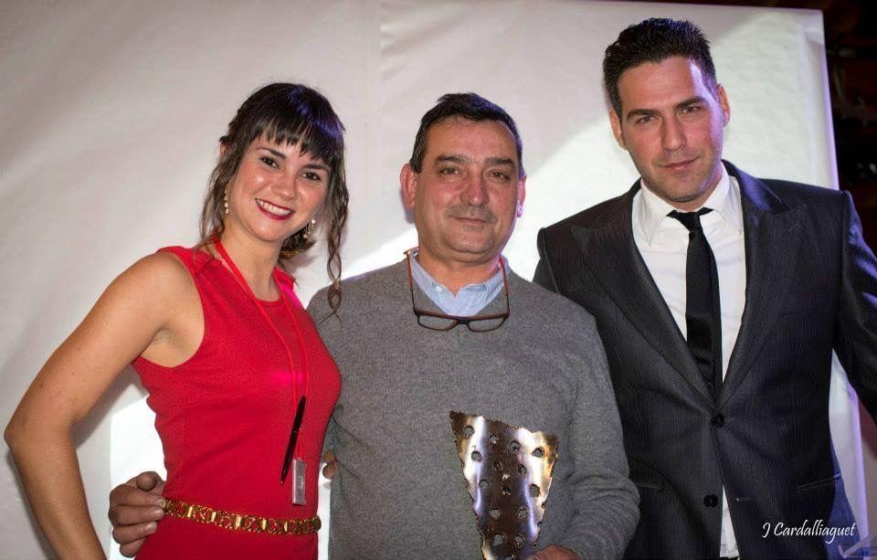 Juan Muñoz premio Mejor Trayectoria del Vino en Málaga 2014