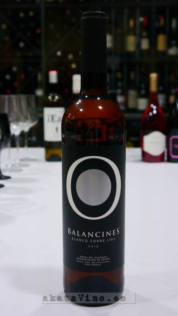 Balancines Blanco lías 2015 Los 12 Magnificos Cena Maridaje AkataVino en Bienmesabe 2016 (6)