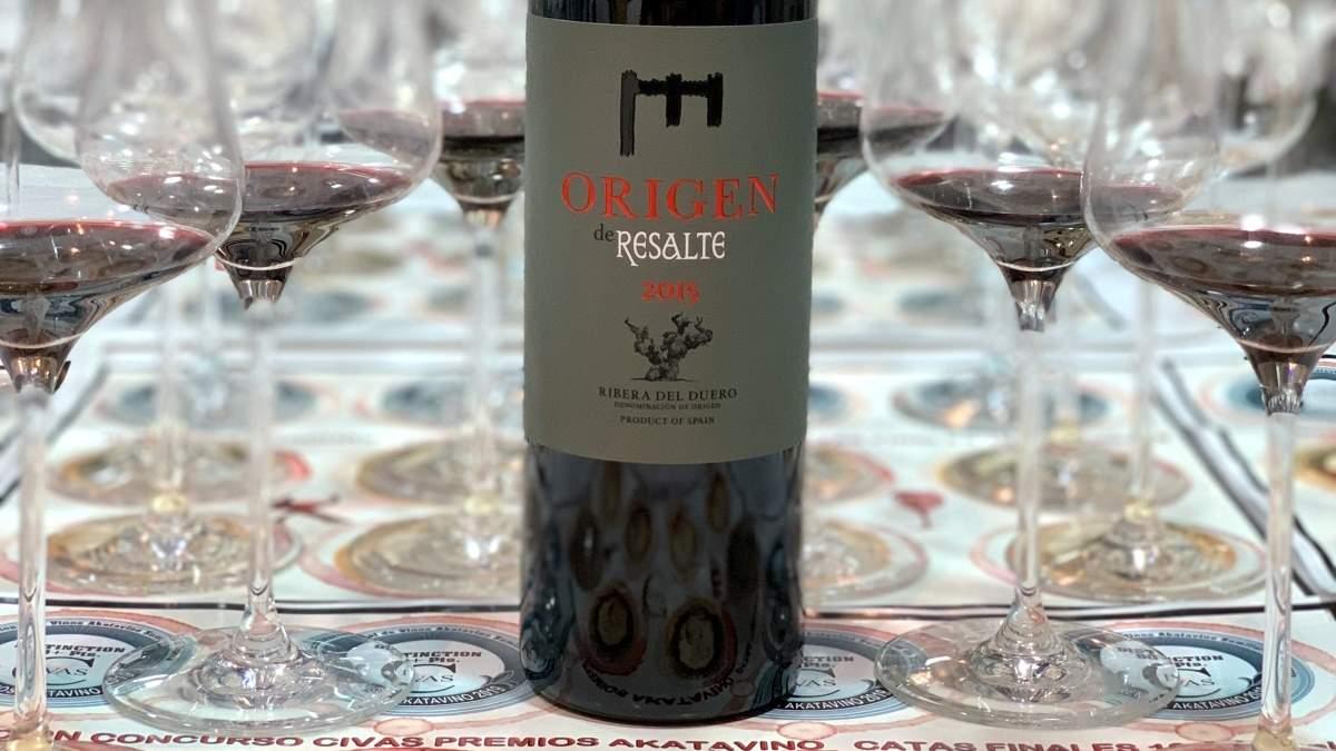 Origen Resalte 2015 el primer vino español dentro del TOP 100 de Wine Enthusiast 2019 | AkataVino Magazine
