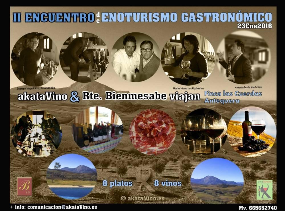 Portada II Encuentro Enoturismo Enogastronomico akataVino 01.2016
