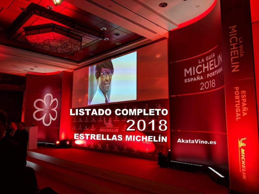 Portada Listado Completo Guia Michelin 2018 en AkataVino.es