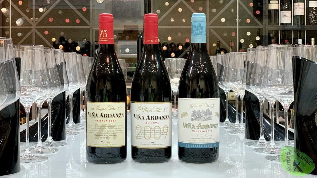 Viña Ardanza Reserva, un vino icónico. Tres añadas y el mismo alma: 2008, 2009 y 2010.