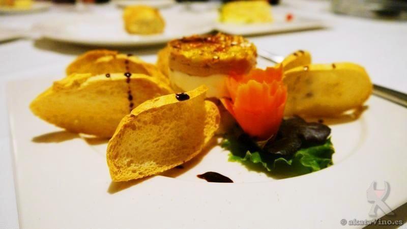 Restaurante Cienfuegos Plato Entrante Foei © akataVino