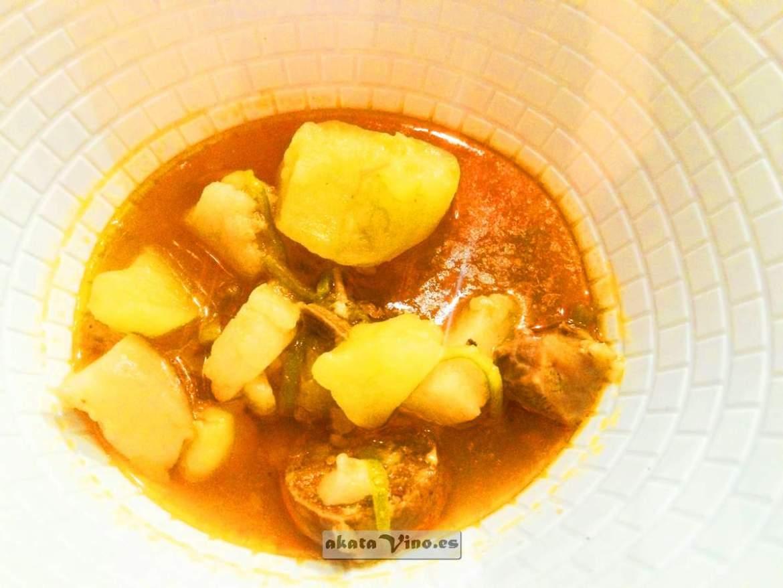 Plata. La Cuchara. Restaurante EBOKA Casa de comidas y vinos