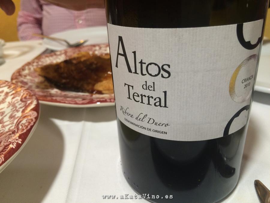 Restaurante La Bahia Altos del Terral © akataVino