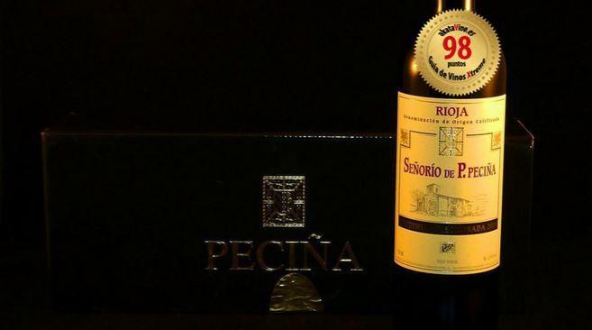 Señorio P.Peciña Vendimia Seleccionada 2006 TOP 4 10 Mejores Vinos 2014 © akataVino.es