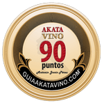 Sello 90 Puntos AkataVino © Guiaakatavino.com 150x