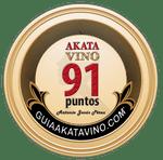Sello 91 Puntos AkataVino © Guiaakatavino.com 150x
