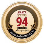 Sello 94 Puntos AkataVino © Guiaakatavino.com 150x