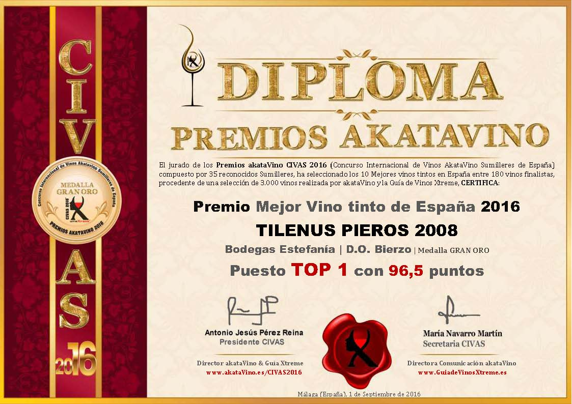 top-1-tilenus-pieros-diploma-mejor-vino-tinto-2016-akatavino