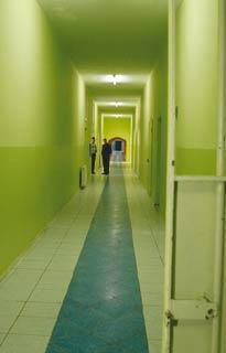 Intérieur de la prison d'Izmir