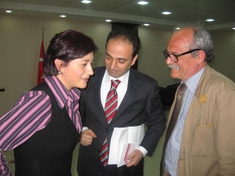 Osman Baydemir et Jean Louis Malterre, avocat