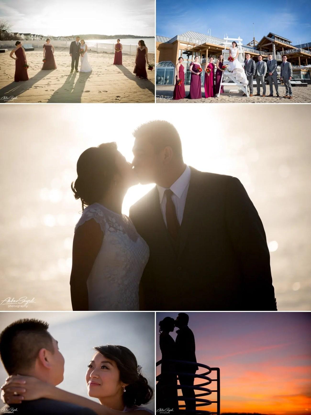 Andrea and Thuan - Crescent Beach Club Wedding 8