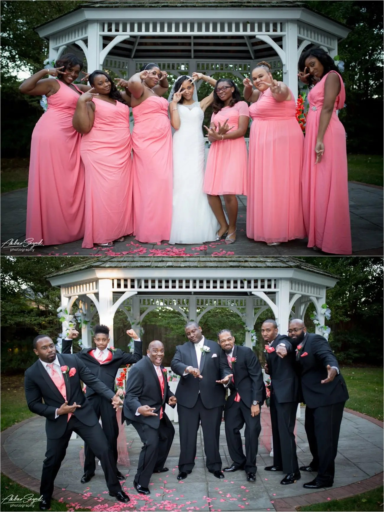 Avon and Tracie - Grey Rock Mansion Wedding 33