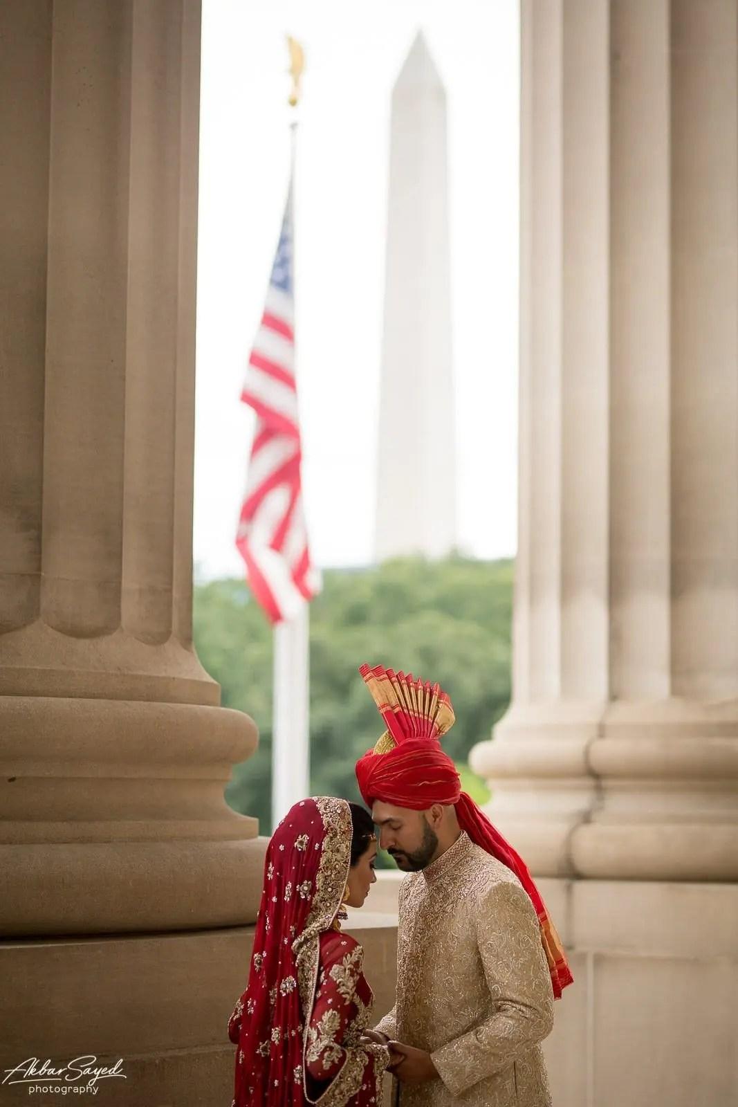 Memona and Salman | Pakistani Andrew W. Mellon Auditorium Wedding 83