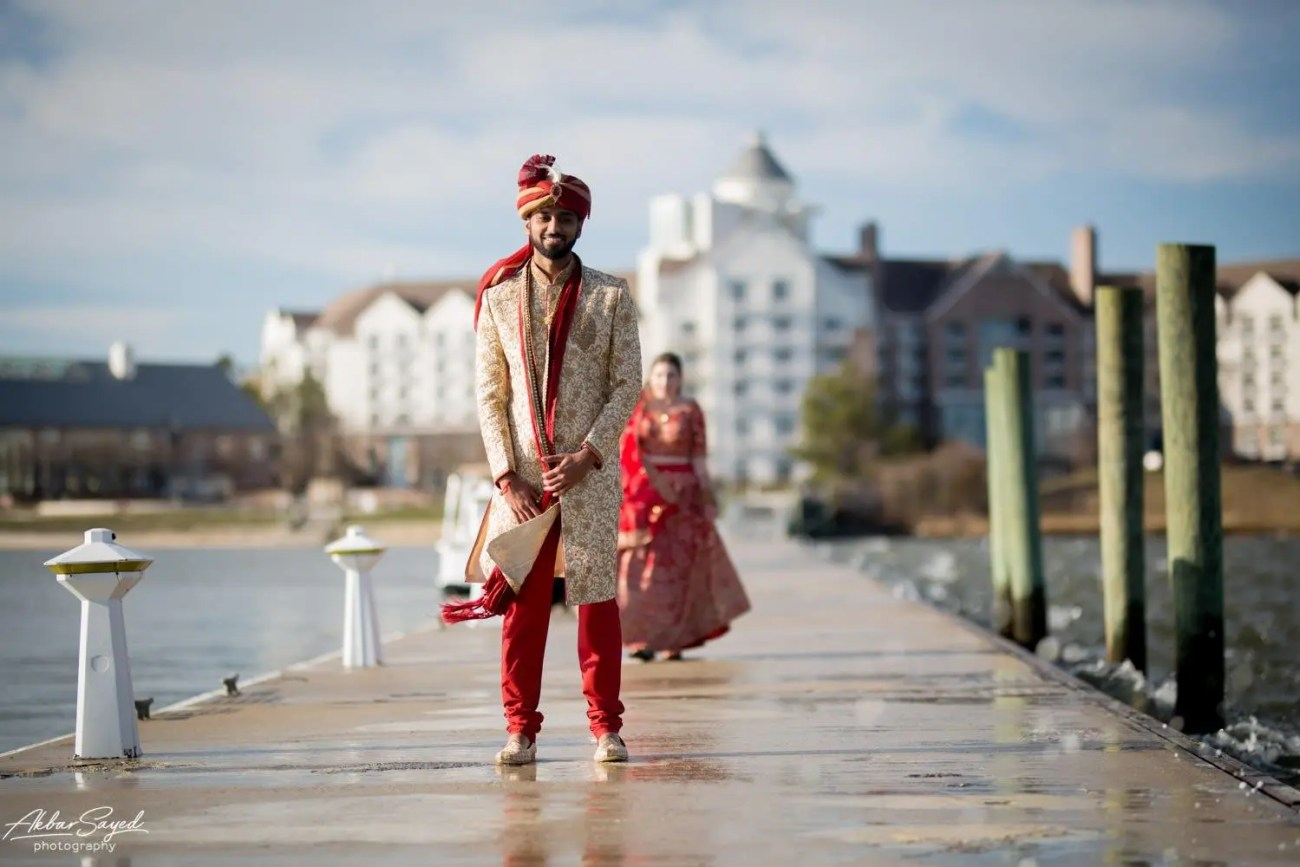Cassie and Kishan | Hyatt Chesapeake Bay Jewish Hindu Fusion Wedding 79