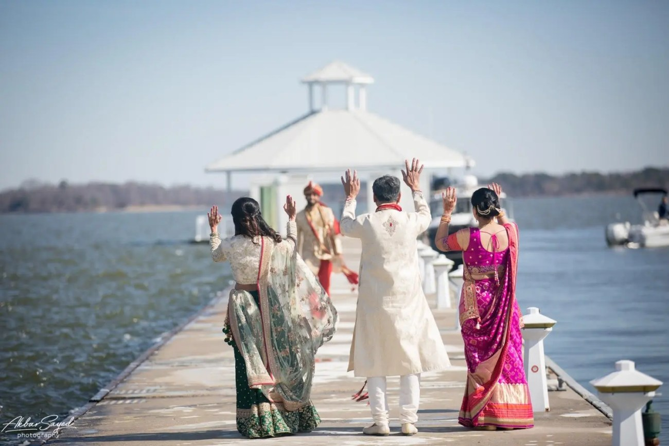 Cassie and Kishan | Hyatt Chesapeake Bay Jewish Hindu Fusion Wedding 90