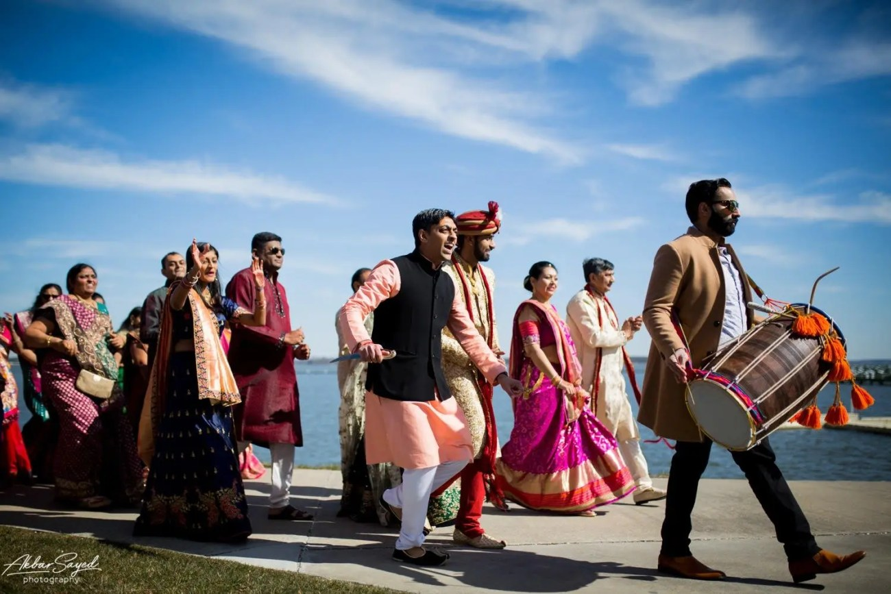 Cassie and Kishan | Hyatt Chesapeake Bay Jewish Hindu Fusion Wedding 93