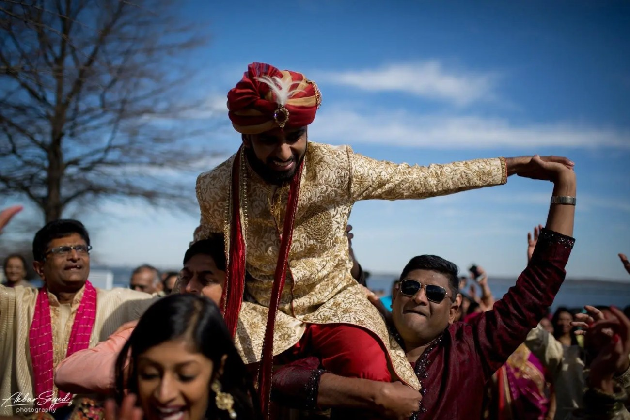 Cassie and Kishan | Hyatt Chesapeake Bay Jewish Hindu Fusion Wedding 94