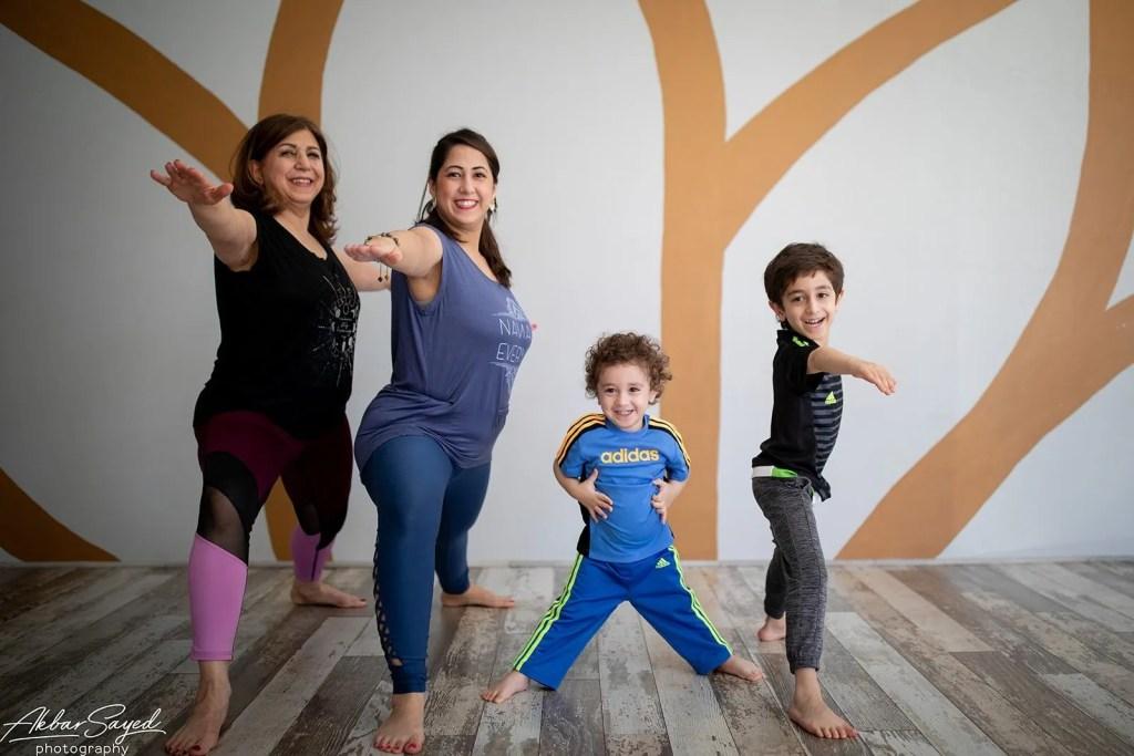 Family Yoga Portraits at Five Peaks Yoga 12