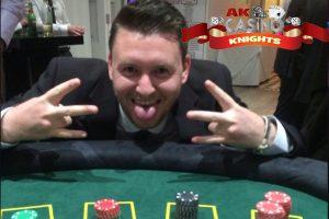 A K Casino Knights, fun casino nights Kent at Hayne Barn house in Kent