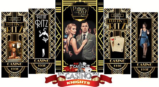 Puttin on the Ritz Casino themed night