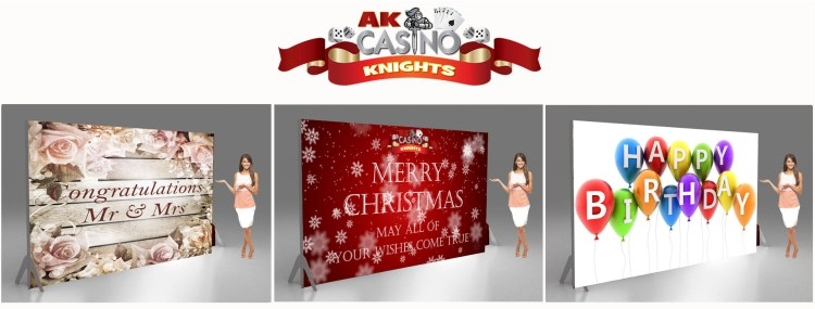 Christmas, Wedding and themed birthday banners