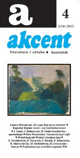 Akcent nr 4/2013