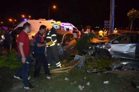 Kuzey Çevre Yolu'nda Kaza 3 kişi Yaralı