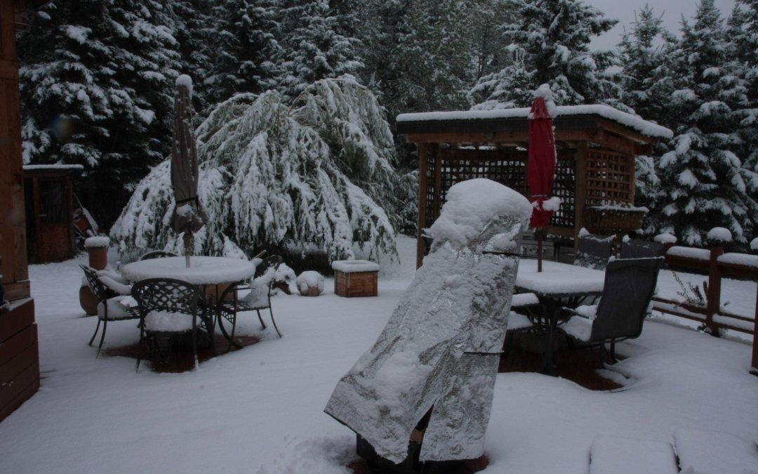 Snow…