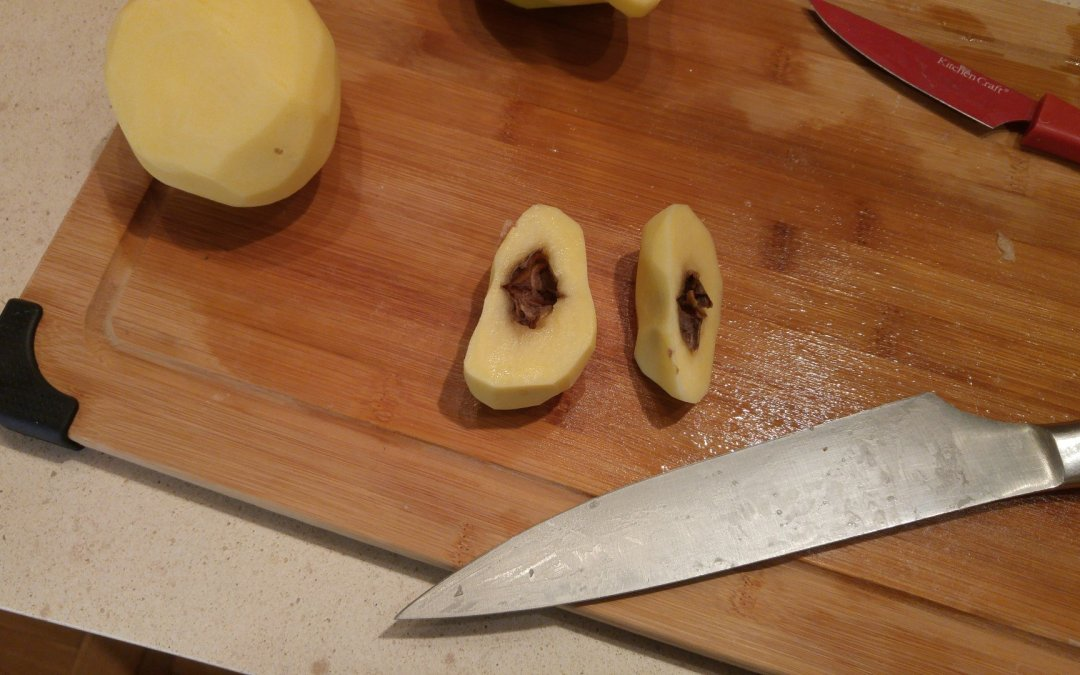 Potatoes and Hollow Heart