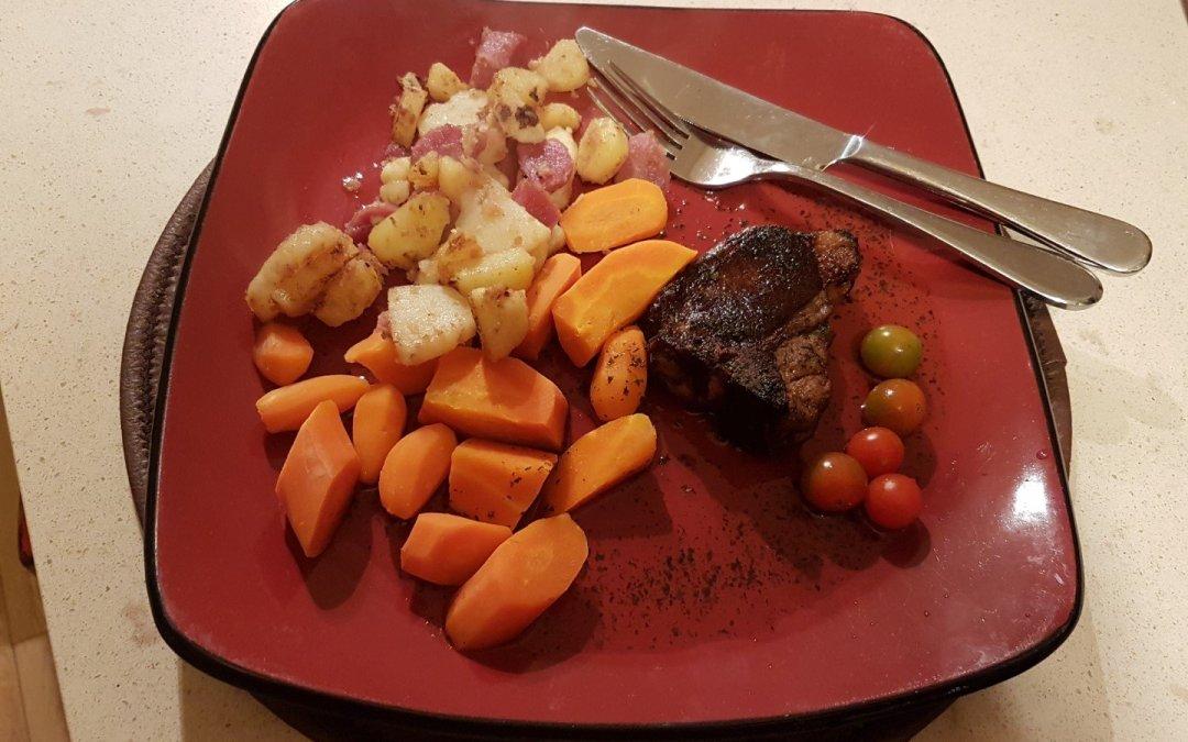 Dinner at Akesi Farms