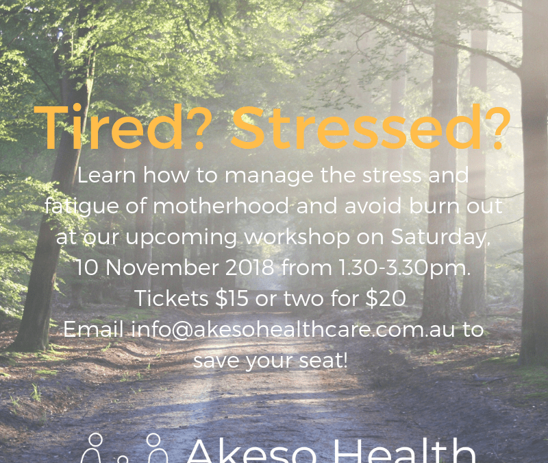 stress workshop image